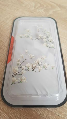 Etui Telone Floral Etui Silikon do Samsung Galaxy S9 Plus Magnolia