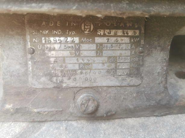 Silnik elektryczny trófazowy 220/380