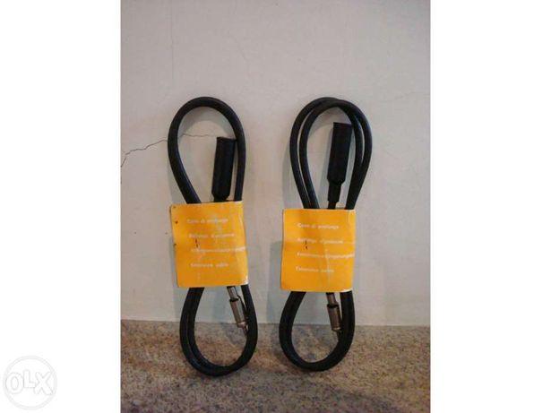 Conjunto de 2 extensões de cabos para carros