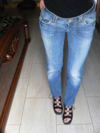 Proste jeansy Calvin Klein 34,XS (4) / 36,S dżinsy