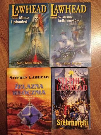 Stephen Lawhead - 5 zł za cztery książki