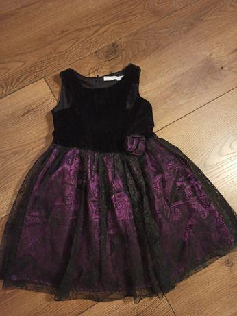 Sukienka elegancka dla dziewczynki roz.104 Cool club Smyk Święta
