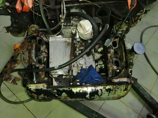 Motor e caixa de citroen gs 1220