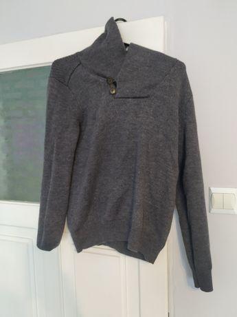 Swetr z włoskiej wełny rozmiar S.