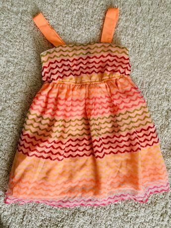 Яскраве плаття George на 4-5 років. Полатье Gerge в принт.