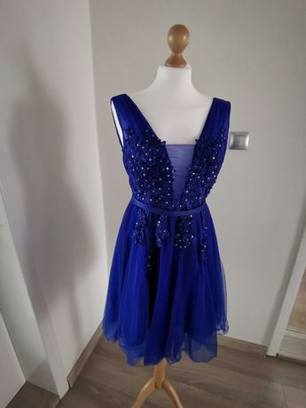 Chabrowa sukienka na wesele