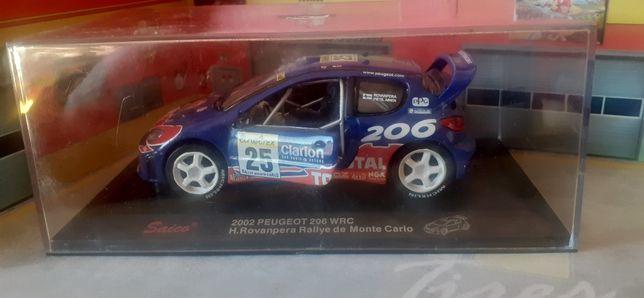 SAICO 2002 Peugeot  206 wrc  H.ROVANPERA Rallye De Monte Carlo