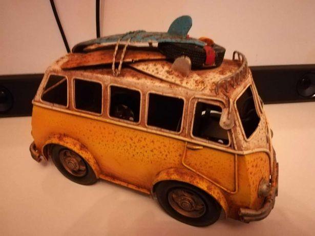 Carrinha VW Pão de Forma em metal decorativa