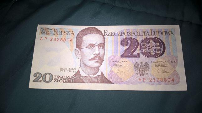 Banknot 20 zł i 50 zł sprzedam