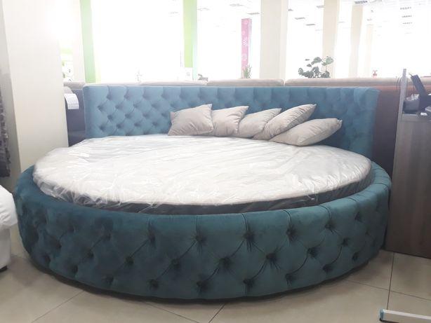 Круглая кровать в комплекте с матрасом - в наличии!