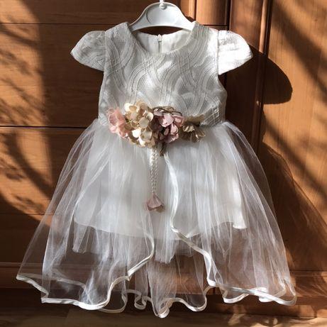 Платье для маленькой принцессы на 1 годик