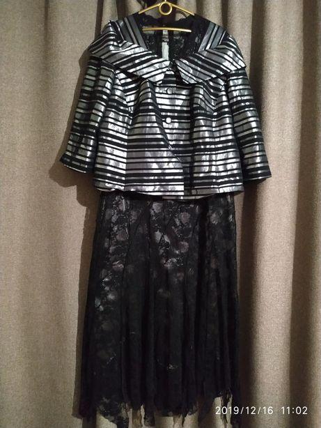 Платье вечернее Mathieu Robe Milano T.6+ пиджак-накидка