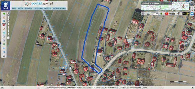 Działka Sitaniec Błonie pow. 0,69 ha.