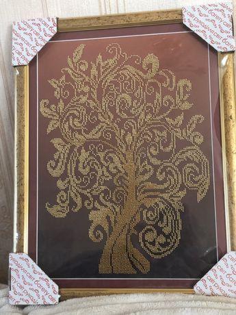 Картина дерево