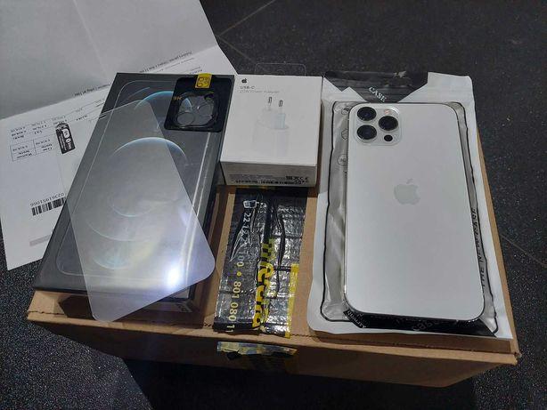 Iphone 12 Pro Max 512 GB !! Idealny. Na gwarancji. PL !! FULL zestaw
