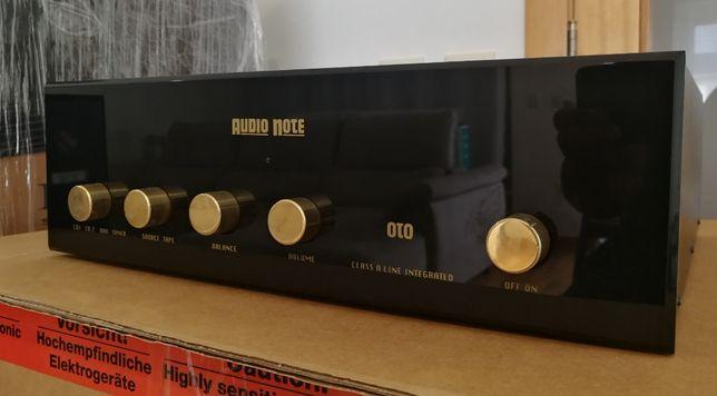 """Audio Note OTO Pure Class """"A"""" (UK) - Amplificador Hiend Valvulado"""