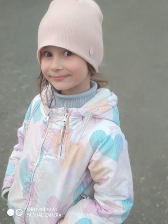 Демисезонная куртка курточка для девочки на 5-6,5 лет. ДОНЕЦК!