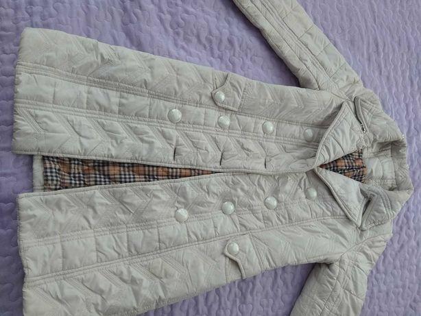 Пальто демисезонное стёганое