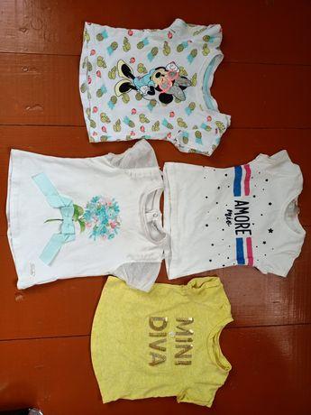 Футболки для дівчинки. футболочки