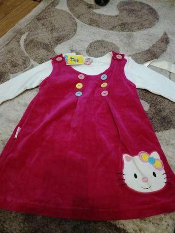 Продам сарафан, платье Китти. 1-2 года.