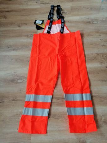 Spodnie wodoodporne BHP przeciwdeszcz. elektrostatyczne ognioodporne