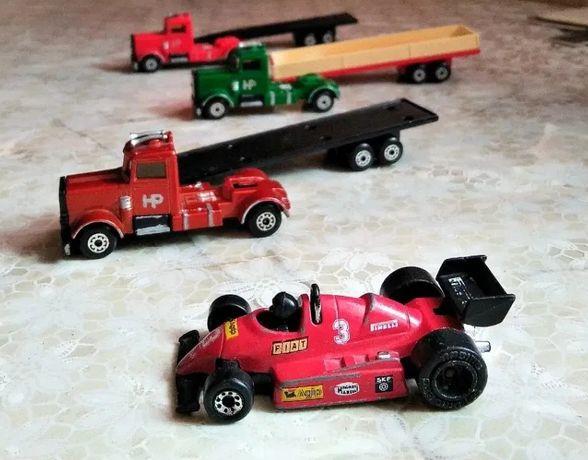 Моделька Matchbox Long haul 1979, грузовик, гонка, машинка, модель