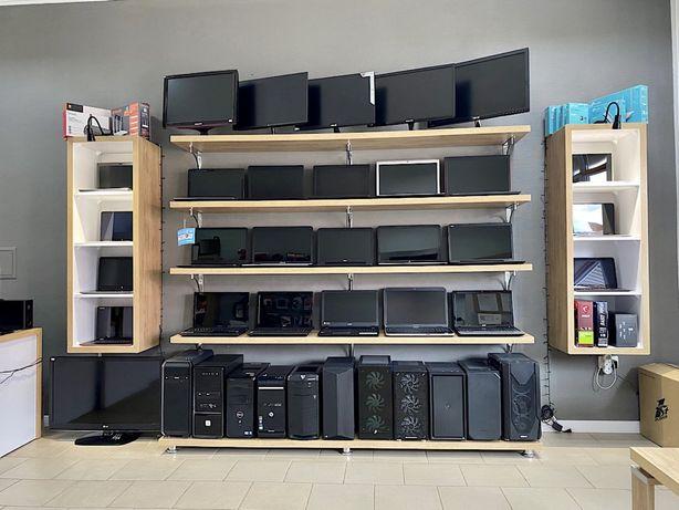 Ноутбуки, комп'ютери, монітори, зарядні, комплектуючі.