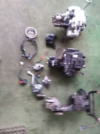 Silnik Zipp Skuter Motorower Plastiki Części Gaźnik Silniki