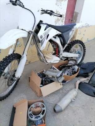 Yamaha yz  450 ano 2008