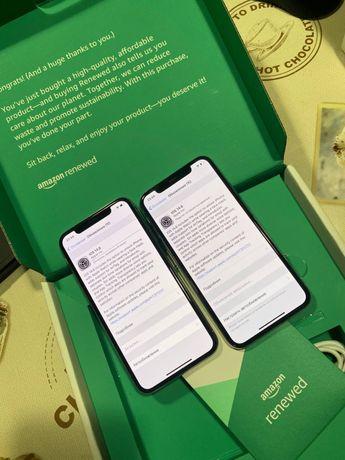 iPhone X 64Gb Silver Amazon Renewed