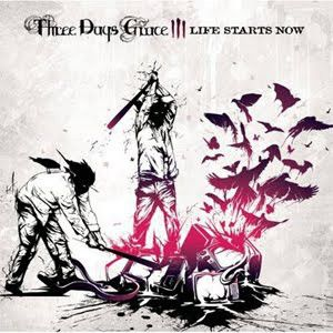 THREE DAYS GRACE - Life Starts Now - LP -winyl , nowa , zafoliowana