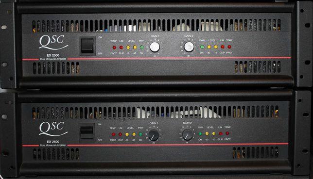 2 Amplificadores QSC EX2500
