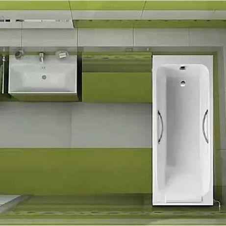 Ванна чугунная Jacob Delafon Parallel 170x70 E2947-00 (Франция)