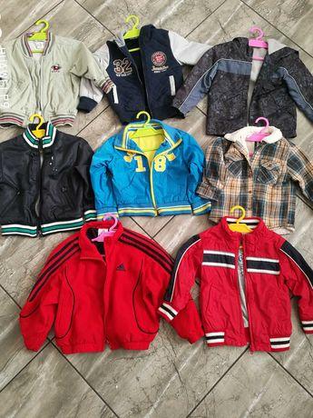 Kurteczki dla chłopca, kurtka, wiatrówka dla dziecka