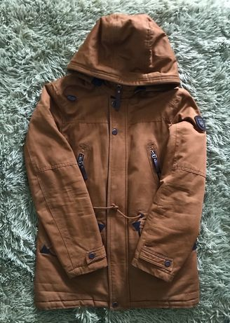 Парка, куртка на мальчика S весна/осень (демисезон) 164