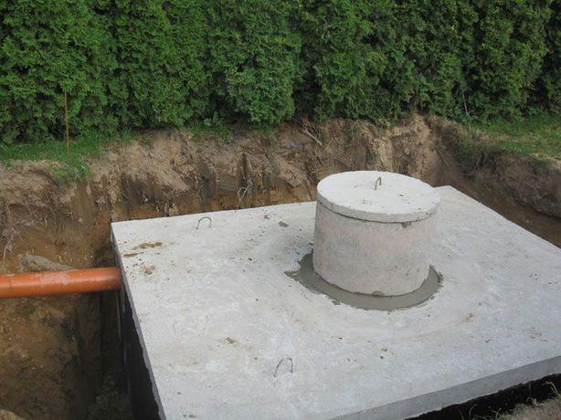 Zbiornik betonowy na gnojowicę szambo gnojówkę szamba 15 kubików m3