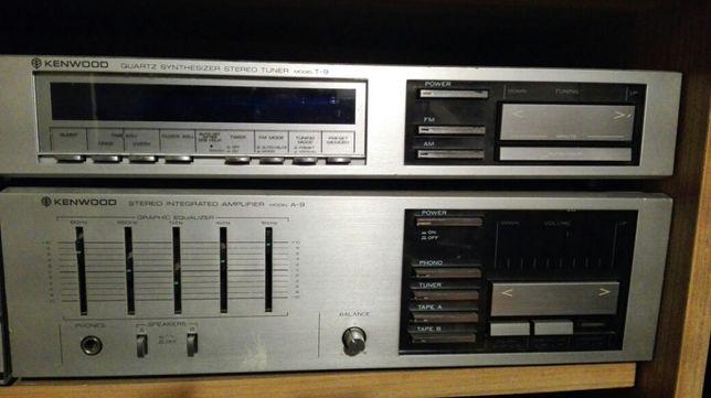 Sprzedam zestaw wzmacniacz i radio Kenwood Made in Japan