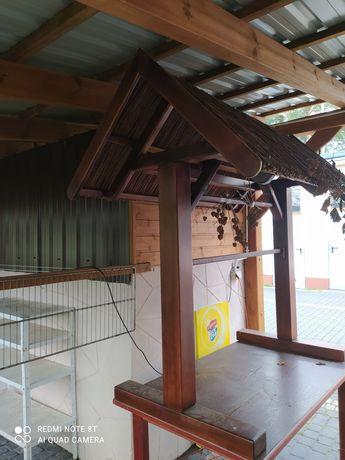 Wiejski Stół Lite Drewno
