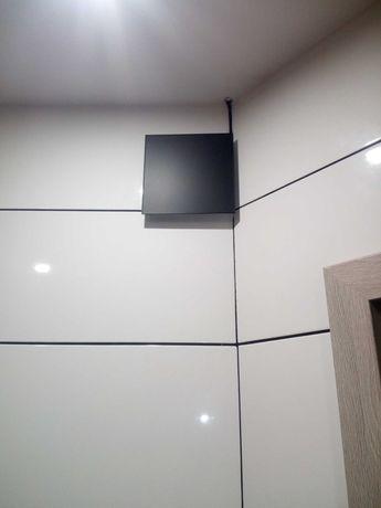 Wentylator łazienkowy 125 używany panel czarny mat