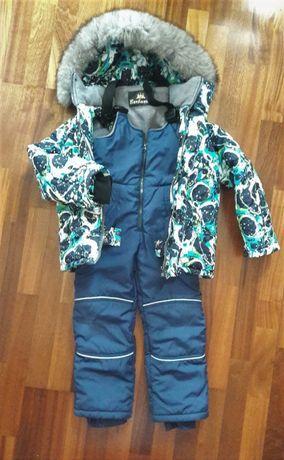 Зимний комплект (куртка и комбинезон) р.122 ( на 6-8 лет) Barbaris