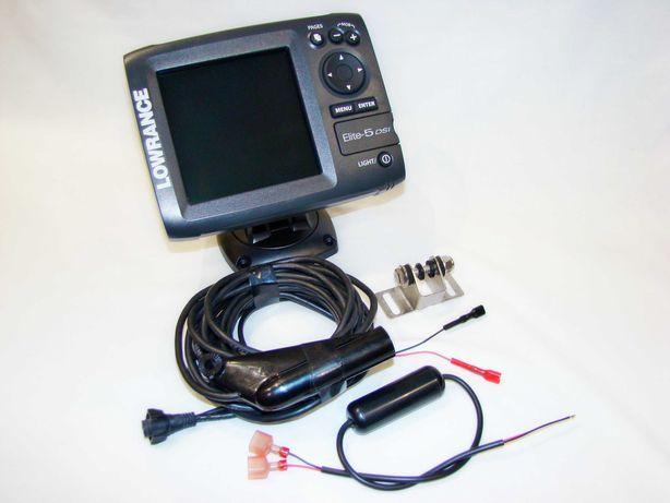 Эхолот Lowrance Elite-5 DSI c GPS! В наличии! Гарантия!