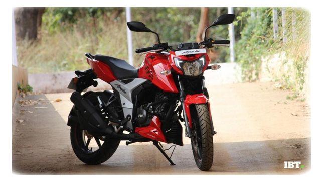 Мотоцикл TVS Apache RTR 160 4V Производится в стране Китай