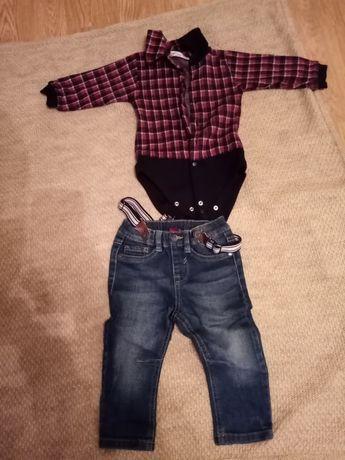 Джинси та сорочка для хлопчика