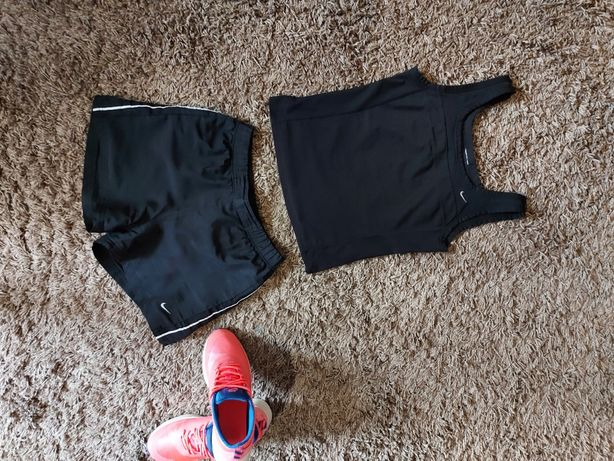 S!Nike!Фирменные шорты майка