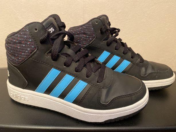 Кроссовки высокие, скинерсы, ботинки Adidas