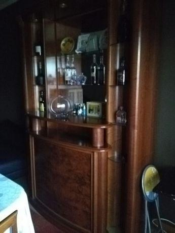 Mobilia de sala em cerejeira