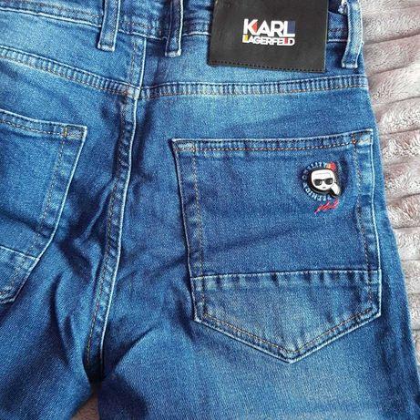 Spodnie jeans Karl lagerfeld