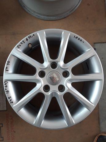 245 Felgi Aluminiowe ORYGINAŁ SEAT R16 5x112 otwór 57.1 ŁADNE
