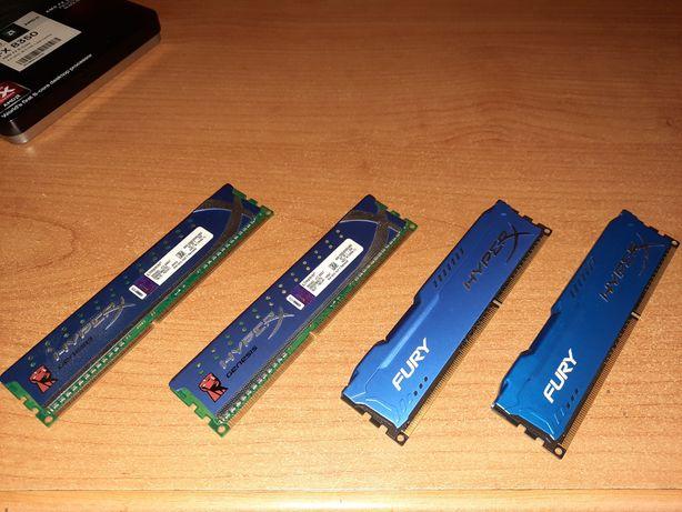 [8GB + 4GB] Pamięci RAM Kingston HyperX 2x4GB 1600Mhz i 2x2GB 1333Mhz