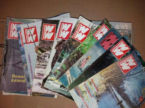 Gazety Wiadomosci Wedkarskie - ponad 70szt. Wydania lata 80' i 90'!